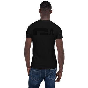 G Athletics Black on Black on Back Unisex Shirt - G's Online Store