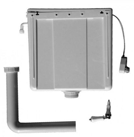 Imperial Concealed Cistern - White/Chrome