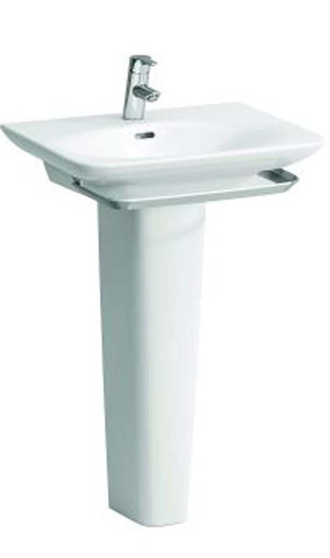 Laufen Palace Basin 1 Tap Hole  - White