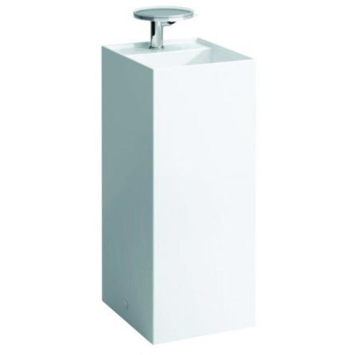 Laufen KARTELL Freestanding Basin 375 x 900h x 435mm One tap hole with concealed waste