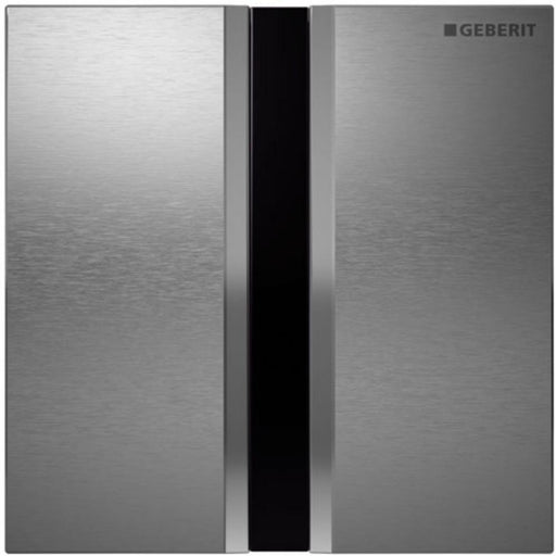 Geberit Touchless Urinal Control - Sigma50 - Brushed Stainless Steel