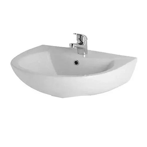 Kartell G4K 545mm Basin and Pedestal - White