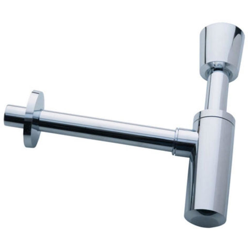 "Geberit Trap - Washbasin Trap with 1 1/4"" BSP Waste Connection and 32mm Connection - Gloss Chrome"