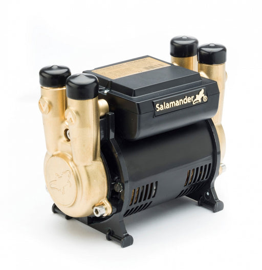 Salamander 3.0 Bar Twin Brass Ended Positive Head Shower Pump