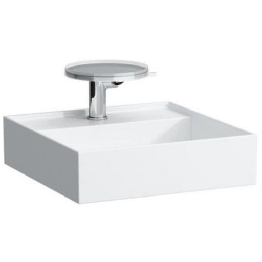 Laufen KARTELL Small Basin 46 x 46cm One tap hole with concealed waste