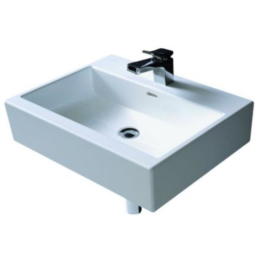 Laufen Living City Basin One tap hole - White