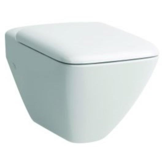 Laufen Palace Rimless Compact Wall Hung Toilet - White