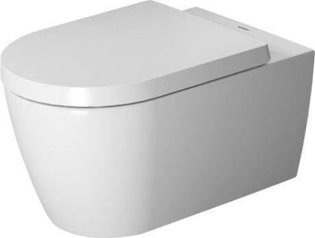 Duravit ME By Starck  Wall Hung Toilet Rimless - White