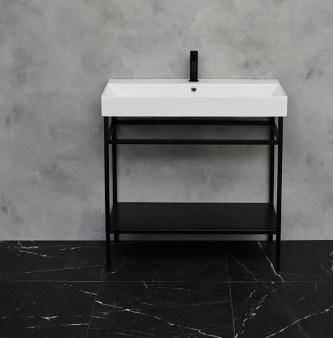 Britton Shoreditch Frame Basin and Stand