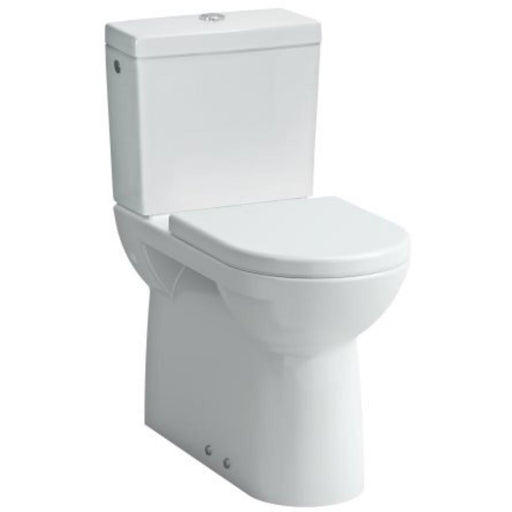 Laufen Pro Comfort Close Coupled WC Raised height pan - 460mm high (fully back to wall) - White