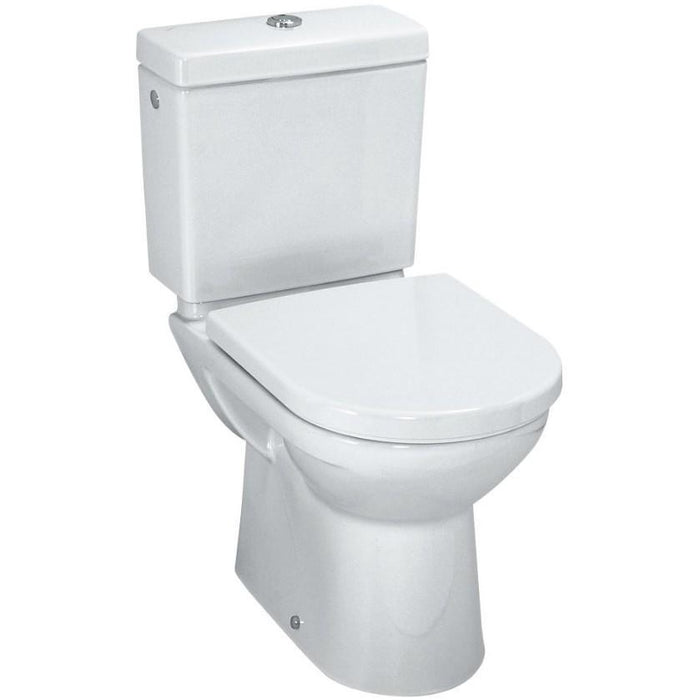 Laufen Pro Floorstanding close-coupled Toilet - outlet horizontal