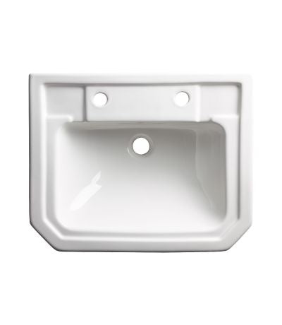 Tavistock Vitoria Semi Countertop Basin - 550mm  - 2 Tap Hole
