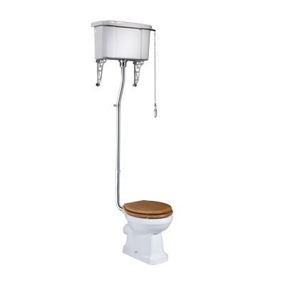 Tavistock Vitoria High Level Cistern and lid with fitting