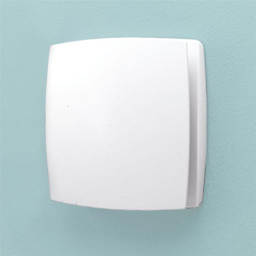 HiB Breeze Wall Mounted W15.2 x H15.2 x D3.3cm discreet Fan