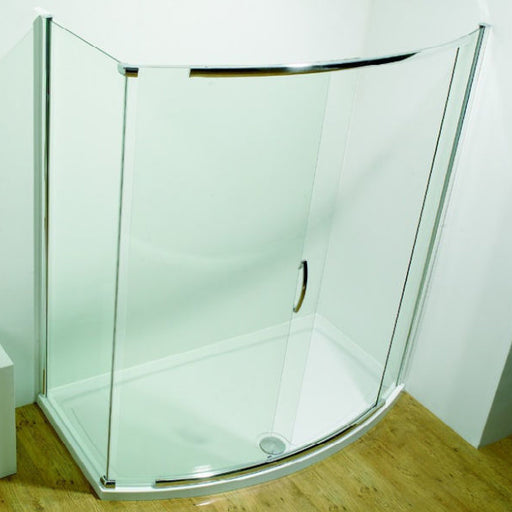 Kudos Original Bowed Special Side Panel for Bow Sliding Door - Silver