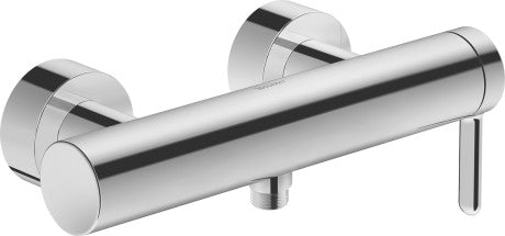 Duravit C.1 Exposed Single lever shower mixer - Surface Chrome