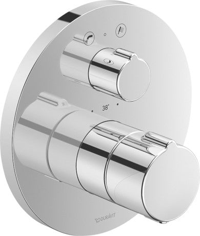 Duravit C.1 Concealed Thermostatic Bath mixer