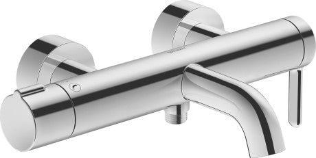 Duravit C.1 Exposed Single lever bath mixer - Surface Chrome