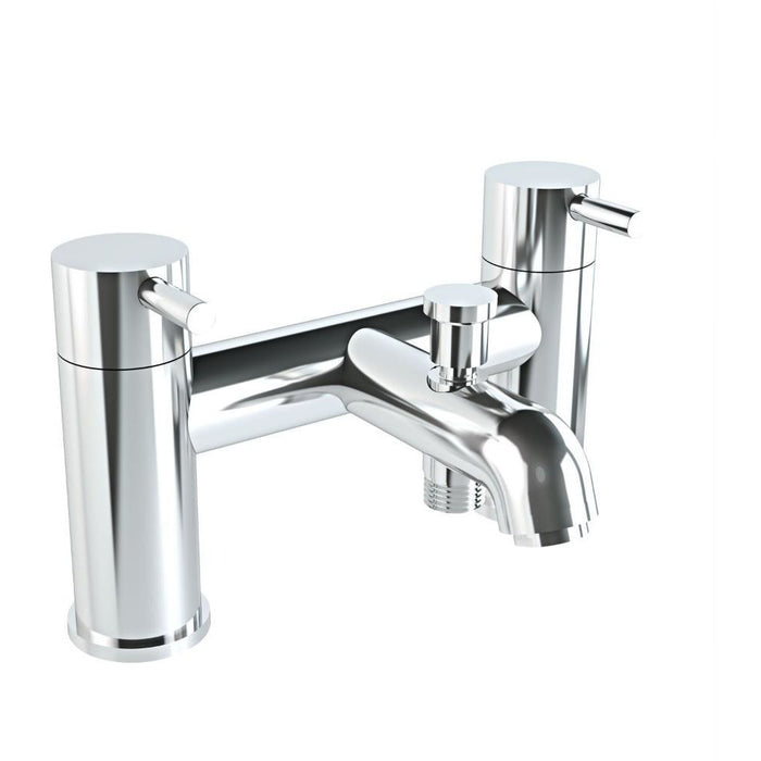 Vitra Minimax2 Tap hole bath shower mixer with hose and handset