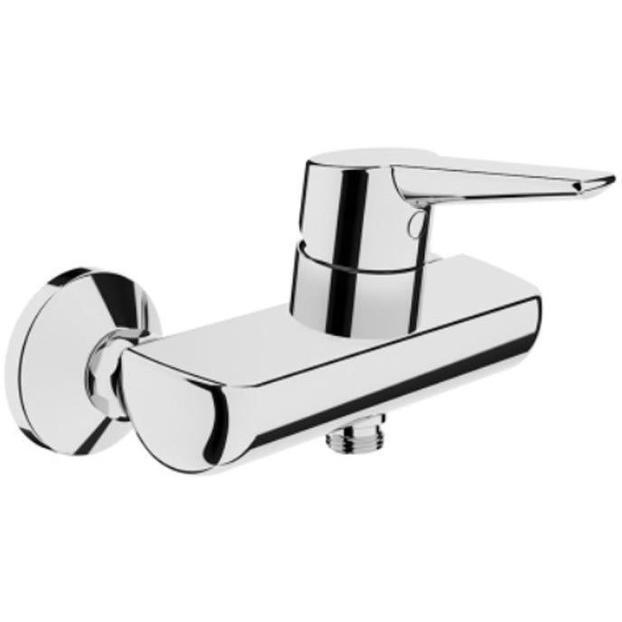 Vitra Solid S Exposed Shower - Chrome