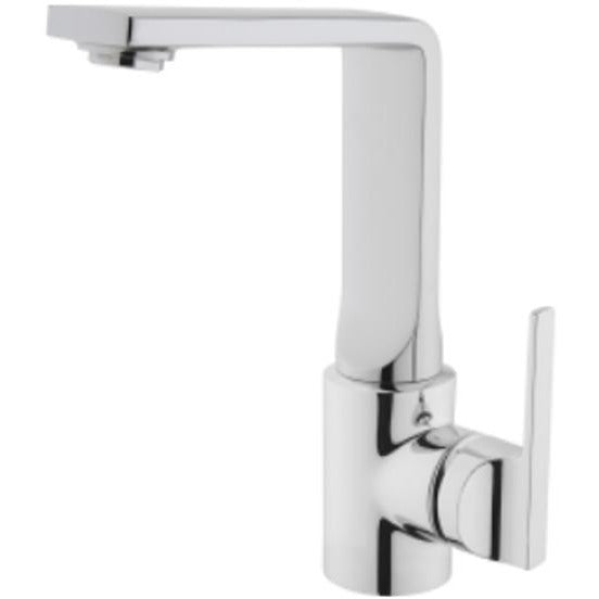 Vitra Suit L Monobloc Basin Mixer with Swivel Spout