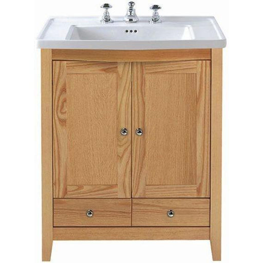 Imperial Radcliffe Esteem Square Vanity Unit 2 Wood Doors, 2 Drawers