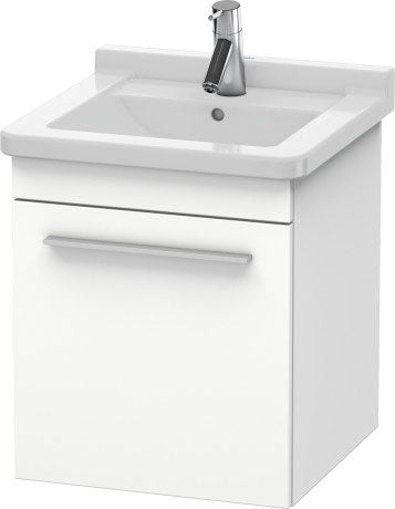 Duravit X-Large 440mm - Left Hand Wall Mounted Vanity Unit And 480mm - Starck 3 Basin
