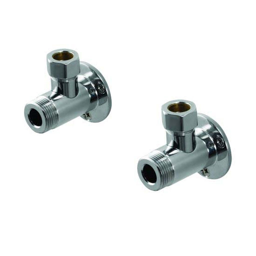 Aqualisa Exposed Pipe Fittings - Pair