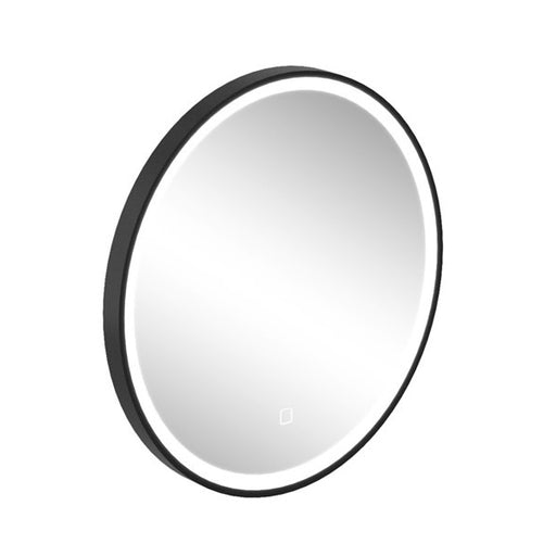 Britton Hoxton LED Mirror with demister - Matt Black