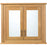 Imperial Linea Mirror Wall Cabinet, 2 Wood/Mirror Glass Doors