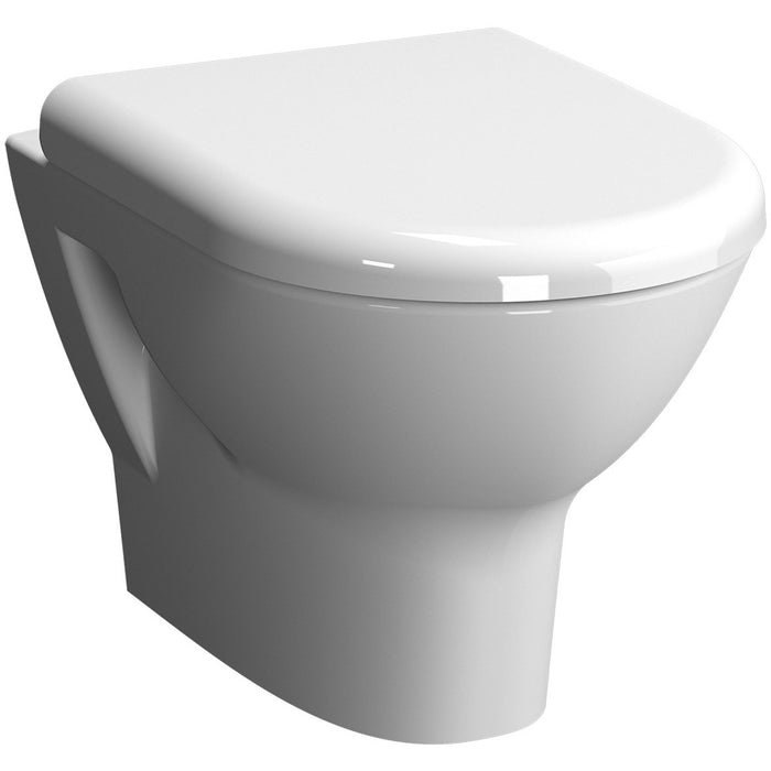 Vitra Zentrum Rimless Wall Hung Toilet