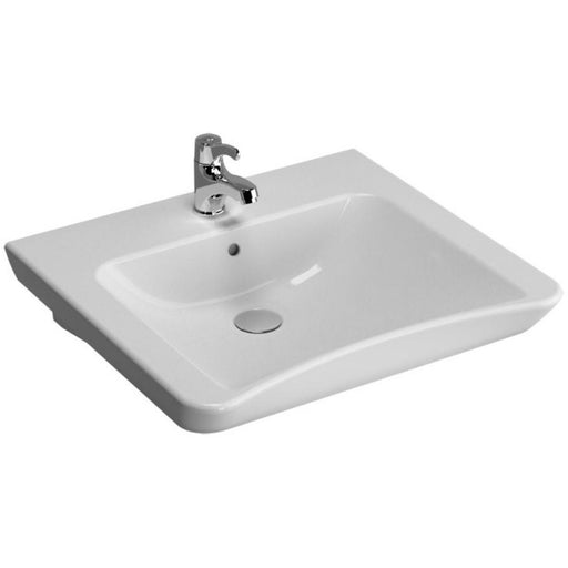 Vitra S20 Accessible Washbasin - 60 x 54.5cm One tap hole