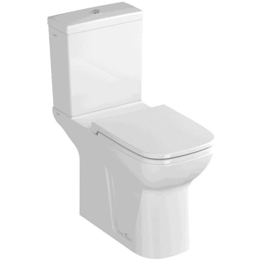 Vitra S20 Comfort Raised Height (46cm.) Close Coupled Toilet - open back