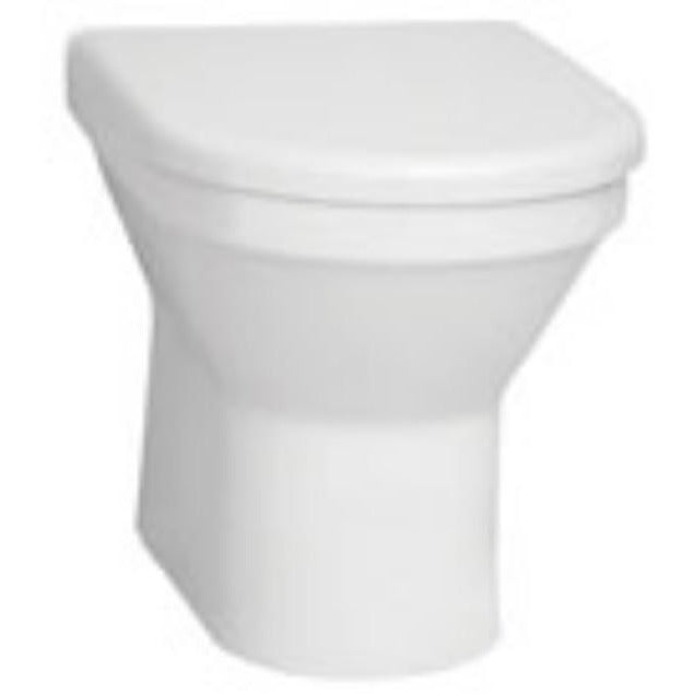 Vitra S50 Back to Wall Toilet with Seat