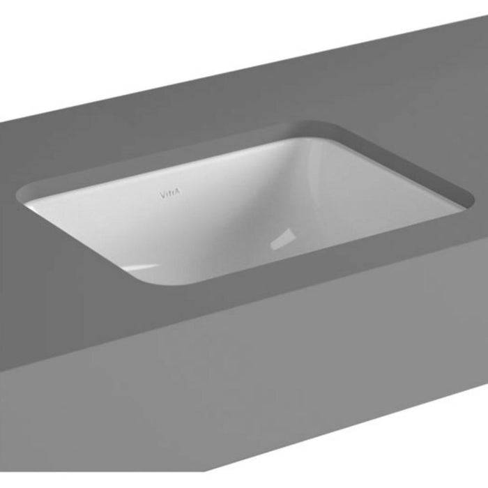 Vitra S20 Square Under Countertop Basin - 0 TH