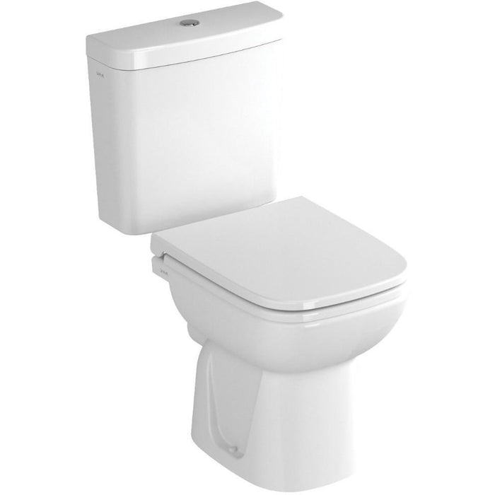 Vitra S20 Close Coupled Toilet - Open Back