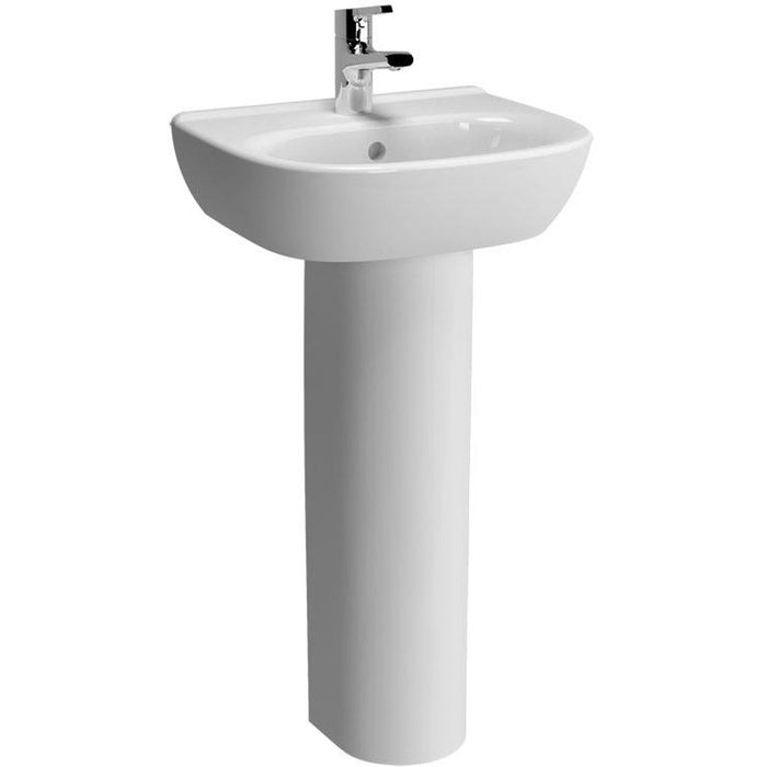 Vitra Zentrum Full Pedestal - White