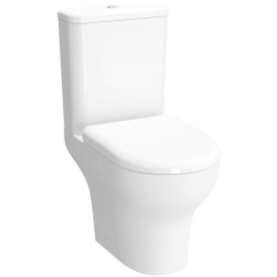 Vitra Zentrum Rimless Close Coupled open back Toilet