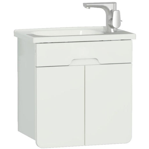 Vitra D-Light Comprising unit 47 x 48.5h x 29.5 cm and basin 50 x 30.5cm One tap hole