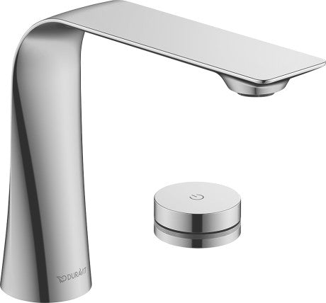 Duravit D.1 Electronic 2-hole basin mixer with Power supply
