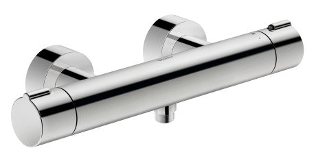 Duravit C.1 Exposed Thermostatic shower mixer - Surface Chrome