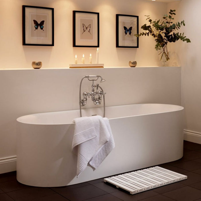 Imperial Lady Margaret Bath - White