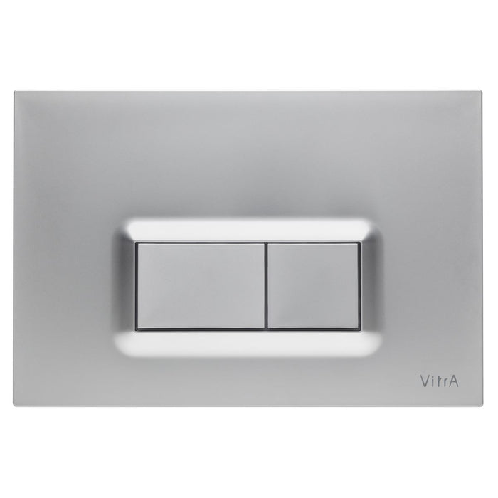 Vitra Loop R Mechanical Flush Plate for 8cm or 12cm WC Frames