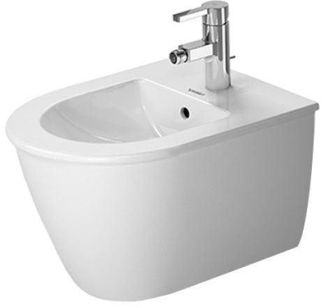 Duravit Darling New Compact Wall Hung Bidet - White