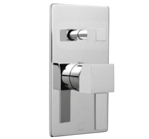 Vado Te Concealed Single Lever Wall Mounted Manual Shower Valve With Diverter