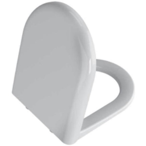 Vitra Zentrum Soft Close Seat and Cover - White