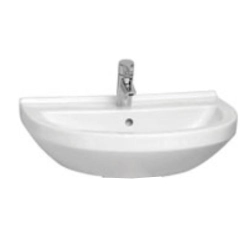 Vitra S50 Round Basin One tap hole and Pedestal