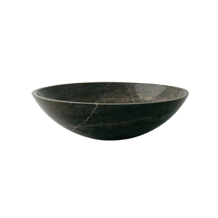 Abacus Merano Sit-On Round Countertop Basin 400mm Wide