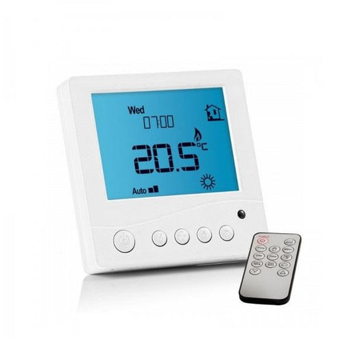 Abacus Essentials Digital Thermostat for Underfloor Heating With Remote