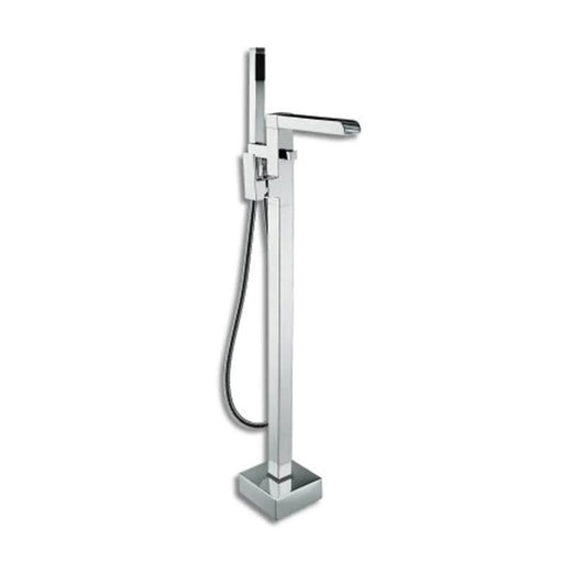 Abacus Font Freestanding Bath Shower Mixer Tap-Chrome